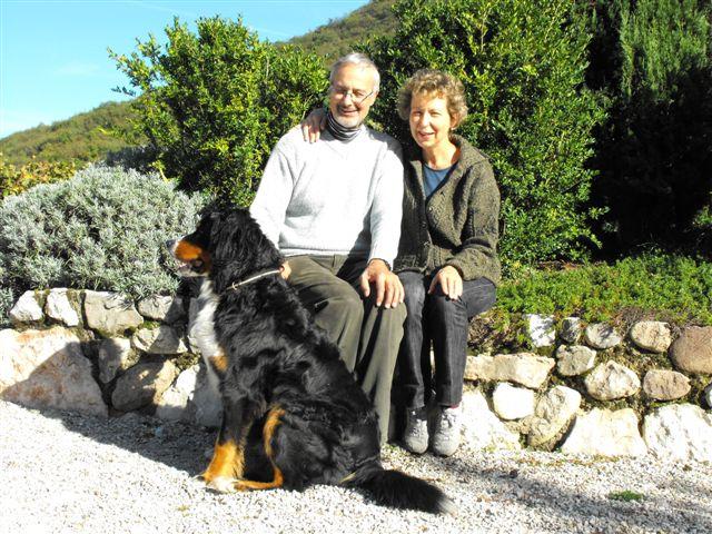 Marco e Rosanna Manica dell'Azienda Agricola